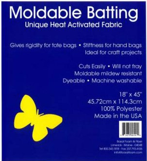 Moldable Heat Activated Batting/Interfacing by Bosal