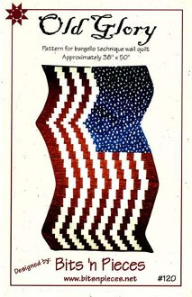 Old Glory Wallhanging Pattern by Bits 'n Pieces
