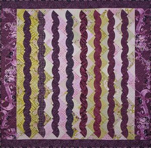 Berry Strudel Quilt Pattern by Elisa's Backporch Designs