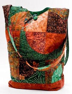 Big Curvy Bag Pattern by Back Porch Design