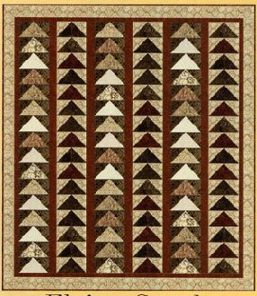 Flying South Quilt Pattern by Back Porch Design
