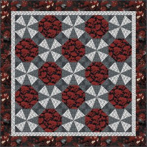 Magic Moon Quilt Pattern by Back Porch Designs