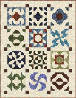 Many Paths Quilt Pattern by Back Porch Designs