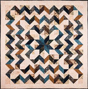 Star Surround Quilt Pattern by Back Porch Designs