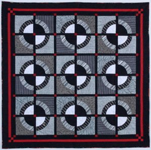 Tuxedo Quilt Pattern by Back Porch Designs