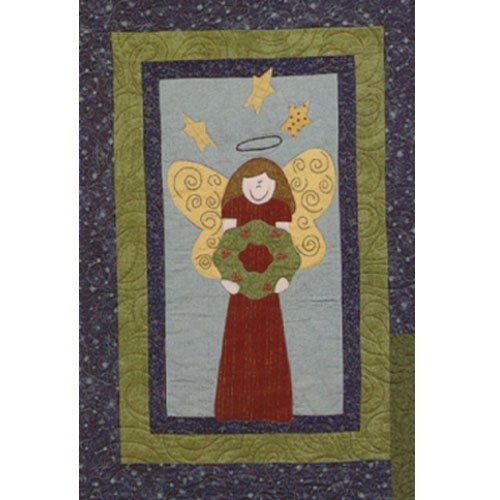 Sugarplum Series Angel Block Pattern by Briarwood Cottage