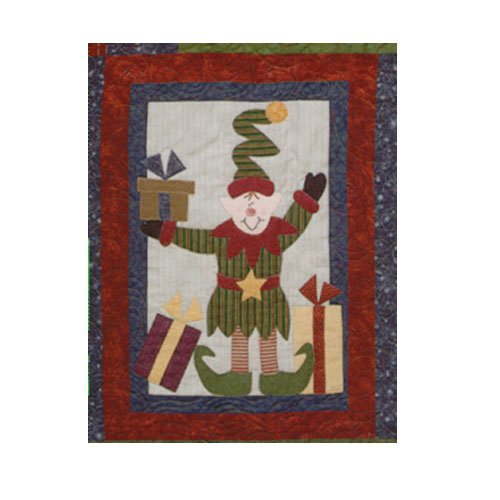 Sugarplum Series Eddie the Elf Block Pattern by Briarwood Cottage
