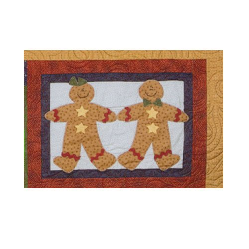 Sugarplum Series Gingerbread Couple Block Pattern by Briarwood Cottage