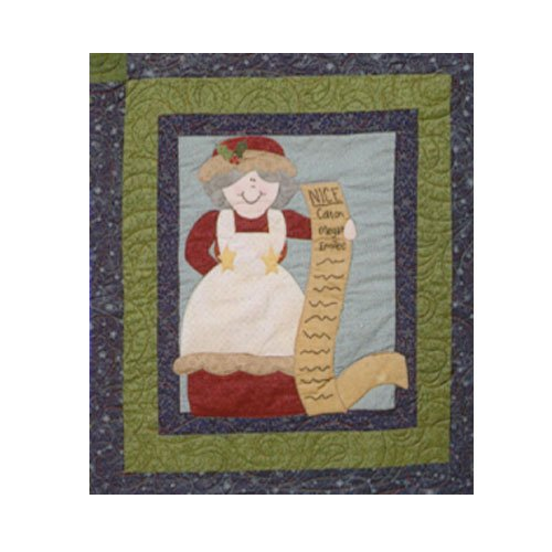 Sugarplum Series Mrs Claus Block Pattern by Briarwood Cottage