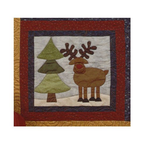 Sugarplum Series Rudolf Block Pattern by Briarwood Cottage