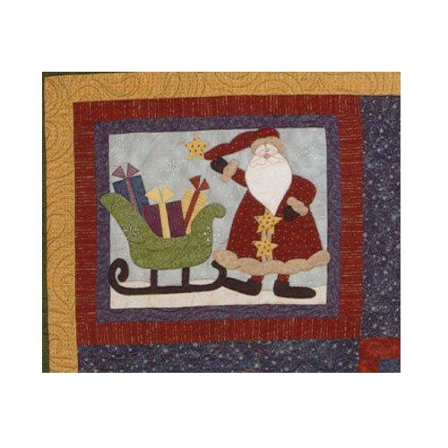 Sugarplum Series Santa Block Pattern by Briarwood Cottage