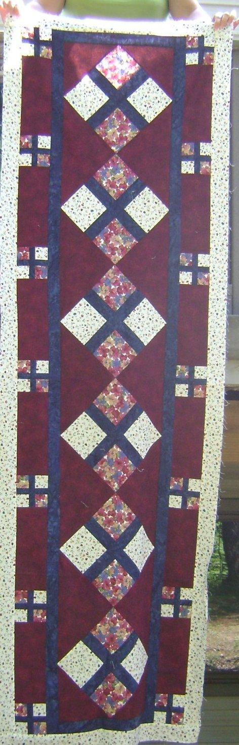 Brick Path Quarter Quilt Pattern by Kaye Wood