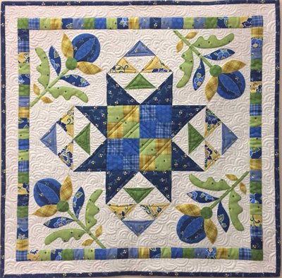Bright Hopes Quilt Pattern in 2 Sizes by Nancy Rink Designs