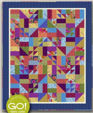 Broken Glass Quilt Pattern by Nancy Rink Designs
