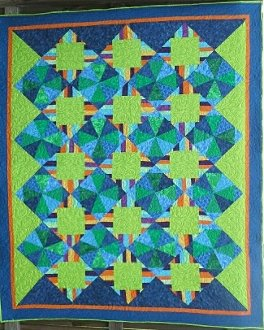Summer Ice Quilt Pattern by Butterfly Stitches