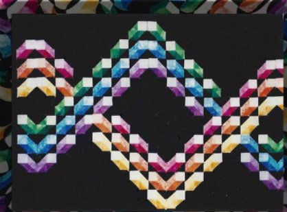 Building Cubes Quilt ePattern with 8 Variations by Kwiltart