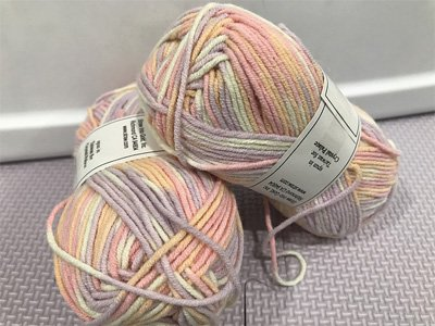 Bunny Hop Yarn by Crystal Palace