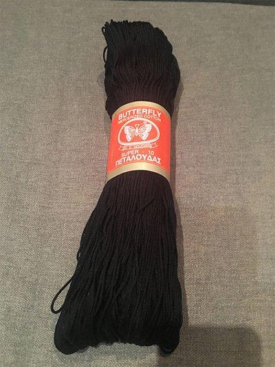 Butterfly Mercerized Cotton Yarn by EL D Mouzakis