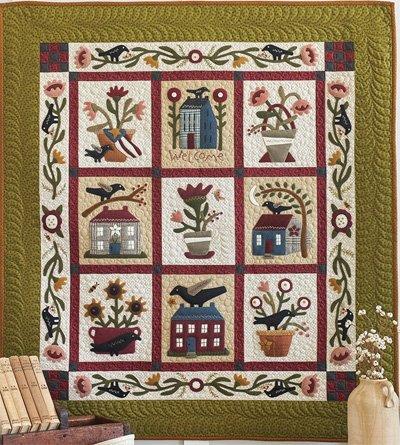 Buttermilk Homestead Quilt Pattern by Buttermilk Basin