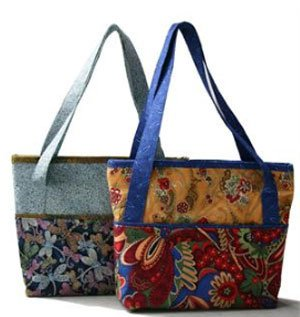 The Manager Tote Bag Pattern by Brenda Wineman