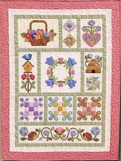 Amy's Sampler Quilt Pattern by Brandywine Design