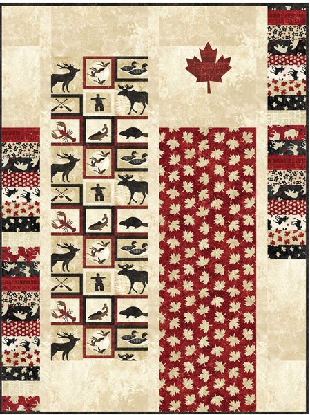 Canadian Shield Quilt Pattern in 2 Sizes by Patti Carey