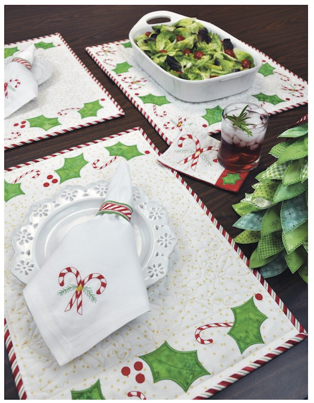 Candy Cane Holiday Patterns by Amelie Scott