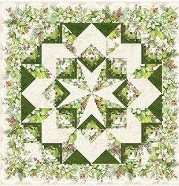Carpenter's Star Quilt Pattern in 3 Sizes by Patti Carey
