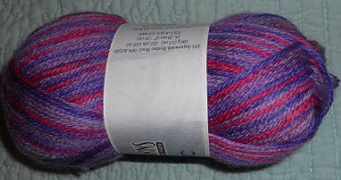 Cascade Pacific Multis Yarn Purples Pinks 506