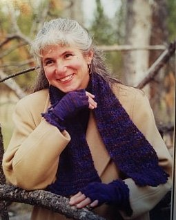 Cashmere Fingerless Gloves & Scarf Knitting Pattern by Mountain Color Designs