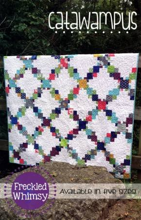 Catawampus Quilt Pattern in 5 Sizes by Freckled Whimsy