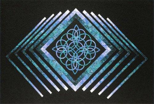 Celtic Diamonds Quilt Epattern by KwiltArt
