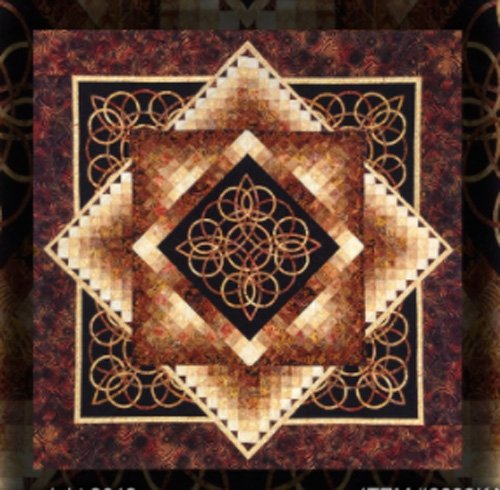 Celtic Radiance Quilt Epattern by Kwiltart
