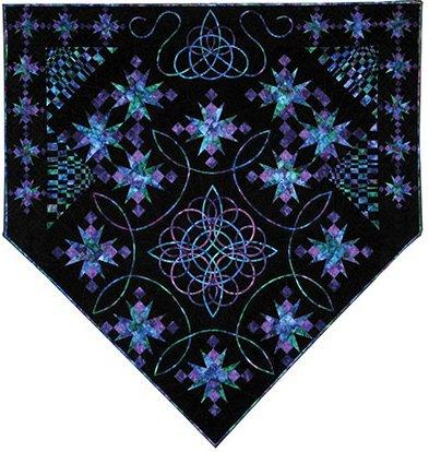 Celtic Stars Quilt Pattern by Kathleen Andrews