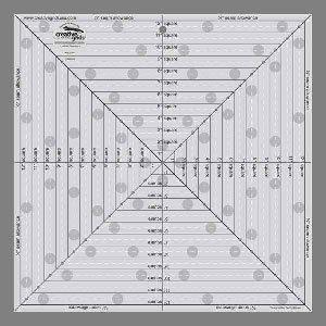 Creative Grids 12.5 x 12.5 Square Ruler by Creative Grids