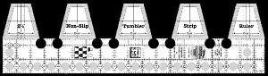 Single Strip Tumbler Ruler by Creative Grids