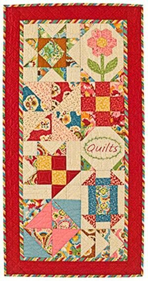 Charm Sampler Quilt Pattern by Bloom Creek at KayeWood