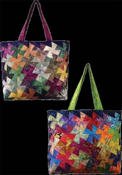 Charmed Twister Bag Pattern by Amy's Wagon Wheel Creations