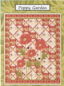 Poppy Garden Quilt Pattern by Coach House Designs