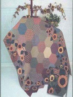 Sunnie Flannie Quilt Pattern by Chickadee Hollow design