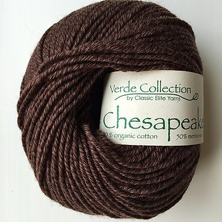 Chesapeake Yarn by Classic Elite Color 5938 Bracken