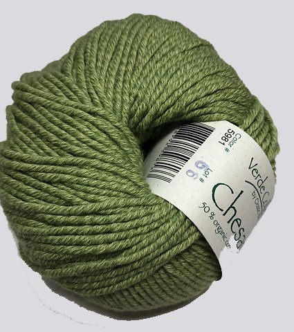 Chesapeake Yarn by Classic Elite Color 5981 Tendril Green