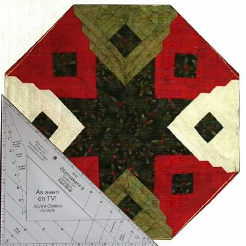 Starmaker 8 Master Template and FREE Christmas Cabin Pattern