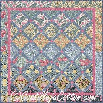 On Pointe Nickels Quilt Pattern by Castilleja Cotton