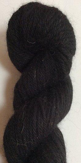 Classic Elite Lush Yarn Color Black 4413