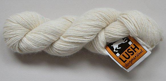 Classic Elite Lush Yarn Color Ivory 4416