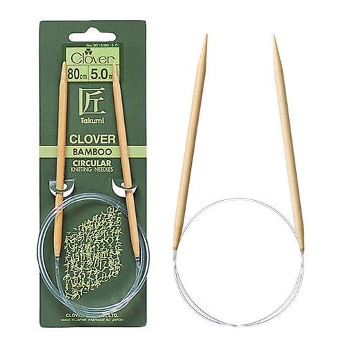 Clover Takumi Bamboo 24 Circular Knitting Needles