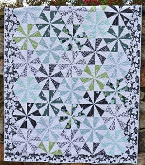 Bloom Quilt Pattern By Cut Loose Press