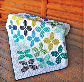 County Fair Quilt Pattern by Cut Loose Press
