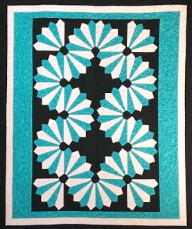 Dynamic Dresden Quilt Pattern by Cut Loose Press
